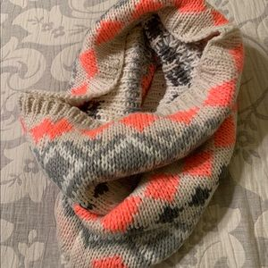 Gap Funnel Neck Infinity Scarf